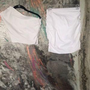 Dresses & Skirts - Skirt and top set